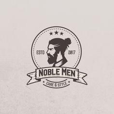 Logo for NOBLE MEN's skin- haircare