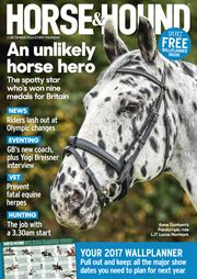 Find out what's in the 1 December issue of Horse & Hound: http://www.horseandhound.co.uk/publication/horse-and-hound-magazine/horse-hound-1-december-2016