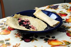 dairy free breakfast crepes