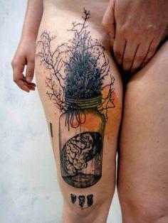 Tattoo done by Xoïl