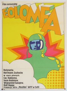 Vintage Inspiration: Groovy Posters of Eastern Europe