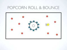 P.E. Games - Popcorn Roll & Bounce K-4 - He has the best games and explanations