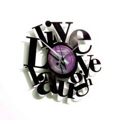 Horloge vinyle Philosophie ATYLIA