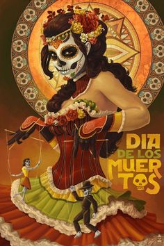 Dia de los muertos - Day of the dead