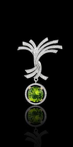 Master Exclusive Jewellery Collection ~ Diamonds and Emerald pendant