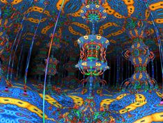 closet thing i have ever come across to show what a dmt trip is like