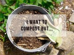Whether you're living in a house or an apartment composting is easy with just a few simple steps to set it up! Link in Bio #environment #zerowaste#sustainability Re-post by Hold With Hope