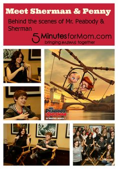 Go behind the scenes of #MrPeabody and Sherman and #win $50 Gift card