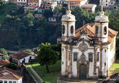 Dicas de Viagem BOM TUR: Ouro Preto, a cidade da arte barroca.
