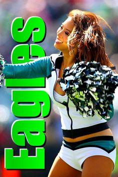 Cheerleader [Philadelphia Eagles]: 80 points. ᴘʜᴏᴛᴏ: ᴀʟ ᴛɪᴇʟᴇᴍᴀɴs/sɪ Philadelphia Eagles, Fun Games, Cheerleading, Cool Games, Cheer