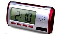 desk clock hidden camera C001 with Motion Detection