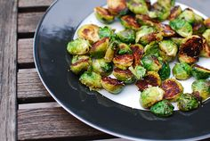 Golden Brussel Sprouts by kitchenkonfidence #Brussel_Sprouts