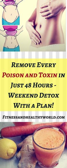 Remove Every Poison and Toxin in Just 48 Hours – Weekend Detox With a Plan!