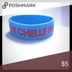 Hot Chelle Rae merch wrist band The hot Chelle Rae wristband bought at concert. Blue and red,one size fits most. Accessories