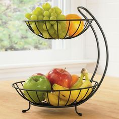 Two Tiered Fruit Bowl