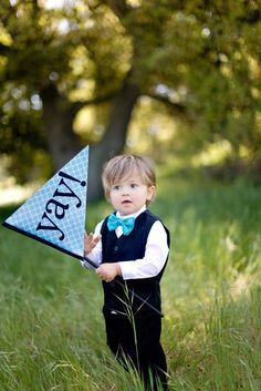 Ring bearer outfit, love the bow-tie!