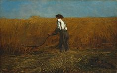 Another classic American piece:             The Veteran in a New Field, Winslow Homer, 1865.            Metropolitan Museum of Art, NYC