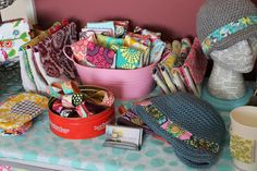 a few craft show tips-- love that hat. And the modge Podge styrofoam hoad.