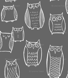 If only I could sew. Spoonflower has the cutest fabrics. You can make your own too!