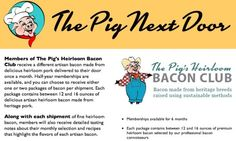 Now you can buy a monthly subscription to… bacon