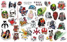 รับทำสติ๊กทู Star Wars Die Cut Stickers ขายสติ๊กทู | ขายสติ๊กทู ลายสัก สติ๊กเกอร์ tattoo ลายสักแฟชั่น หลากหลายแบบ ทั้งแผ่นเล็ก และแผ่นใหญ่ สติ๊กเกอร์แทท