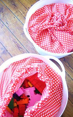 silly old suitcase: DIY-Tutorial; zak voor mand...bag for basket...