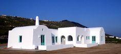 Minimal Outdoor, Cob House, White, Blue, Santorini, Greece