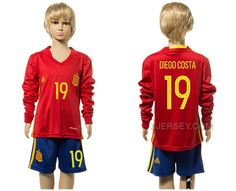 http://www.xjersey.com/spain-19-diego-costa-home-youth-long-sleeve-euro-2016-jersey.html Only$35.00 SPAIN 19 DIEGO COSTA HOME YOUTH LONG SLEEVE EURO #2016 JERSEY #Free #Shipping!