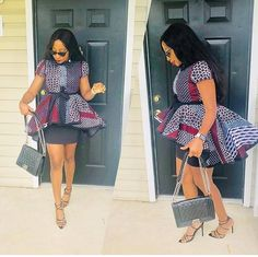 afrikanischer stil beautiful and classy chic ankara dress styles for ladies, african print ankara stylish top for ladie African Fashion Ankara, Latest African Fashion Dresses, African Print Fashion, Africa Fashion, African Wear, African Attire, Women's Fashion Dresses, African Outfits, Ankara Dress Styles