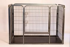 Iconic Pet - Heavy Duty Rectangle Tube pen Dog Cat Pet Training Kennel Crate - 36in Height - Dimensions: 50x32x36Heavy Duty Pet Play Pen is a perfect crate for your dog .It can also be used for many other pets (rabbits, hamsters, guinea pigs, kittens, cats etc).Iconic Pets playpen is a luxury for any pet. It is easy to set up and is ideal for both indoor or outdoor use.This product is designed for use with pets where training is desired and can offer an easy way to manage your pet.This heavy…