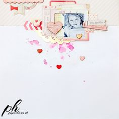 PaperHaus Magazine: Valentines isn't far away and Christin shows us how we can make something full of love...