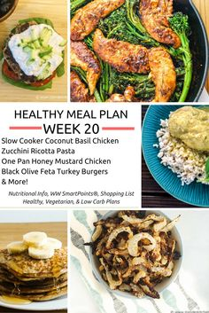 """""""If you fail to plan, you are planning to fail.""""Every week I like to share highlights form the Slender Kitchen meal plans. I believe meal planning is critical to any long term and effective..."""