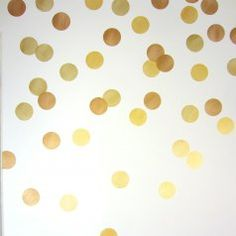 This trendy Polka Dot stencil kit makes it easy to make a stylish accent wall, or a random pattern around the whole room! Easy inexpensive DIY decor project by Cutting Edge Stencils Stencil Patterns, Stencil Designs, Wall Patterns, Stencil Decor, Stencil Painting On Walls, Stenciling, Stencils For Kids, Large Stencils, Chalkboard Stencils