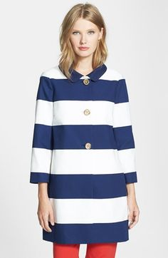 Kate Spade New York | 'Franny' bow detail coat | 2014