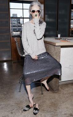 """リンダロダンコーディネート - """"ファッションは、60代からだ の画像 Smart Beauty Fashion Salon^^"""