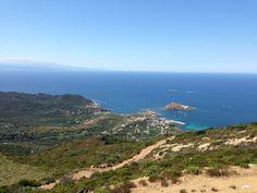 Vue sur Centuri. Photo de Steve Robert. Cap Corse, Le Cap, Photos, Mountains, Water, Travel, Outdoor, Gripe Water, Outdoors