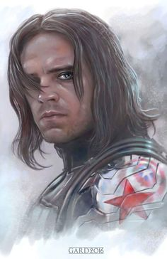 "Finally got a chance to see Captain America Civil War… IT WAS AWESOME! Here is The Winter Soldier ""Bucky"" and I will be adding this piece to the Civil War collage I am working on."