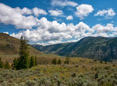 Classic north central Washington scenery along the Pacific Northwest Trail