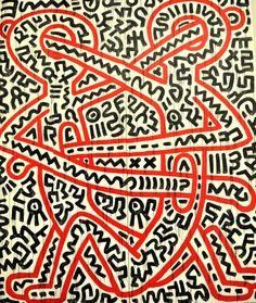 neonafrica:    Keith Haring - Musée d'art moderne de la Ville de Paris