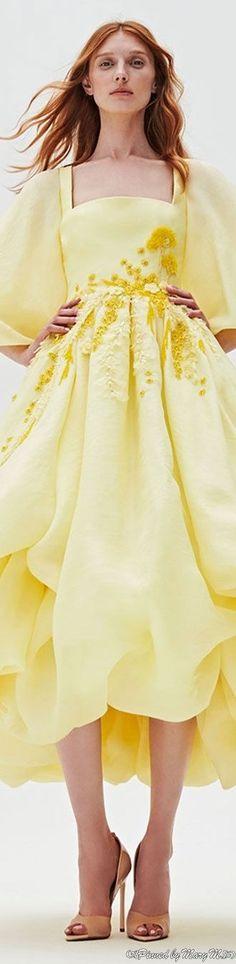 Canary Yellow Dress, Shades Of Yellow, Mellow Yellow, Swirls, Peplum Dress, Collection, Dresses, Rainbow, Style