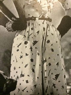 Jay thorpe / bianchini freedom of religion dress, from 1943 vogue ad.
