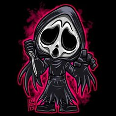 Lordmesa Art — Ghost face!!!    #scream #ghostface...