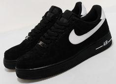 Nike Air Force 1 Low | Black Suede - EU Kicks: Sneaker Magazine