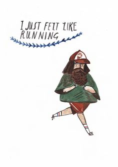 Run Forrest Run, by Dick Vincent illustrations