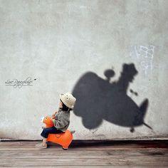 Maman photographe met en scène les rêves de sa fille en ombres  2Tout2Rien