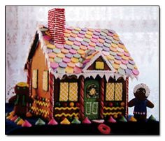 Gingerbread house recipe and decorating ideas. We make a gingerbread house every year as a family. It's been a fun tradition!~ Mrs. Joseph Wood