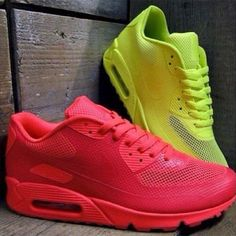 outlet store 3607b b6d5d Nike Air Max 90 Hyperfuse - Solar Red   Volt Yellow Nike running shoes for  off.