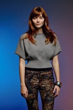 """Lyric Pullover Kit - priced from $59.50 to $117.45. """"With slash neck and short cap sleeves, this pattern is for the beginner knitter."""""""