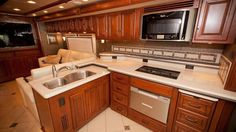 Camping in a Winnebago Tour RV is like camping in a 5-star hotel. Luxury!