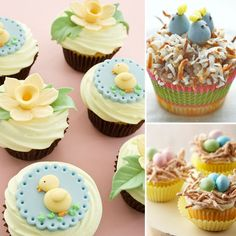 The Cutest Easter Cupcakes For Your Little Bunnies - www.lilsugar.com